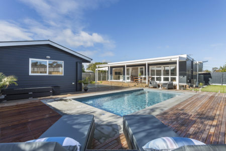 Beachside Stunner Rye with Pool